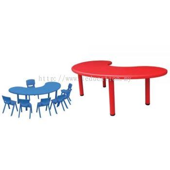QIFP026 Plastic Kidney Table