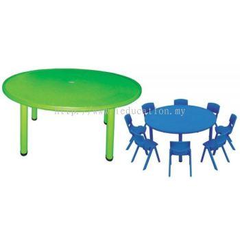 QIFP009 Plastic Round Table