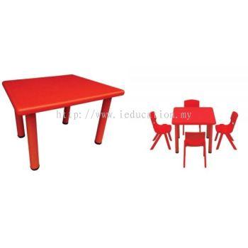 QIFP007 Plastic Square Table