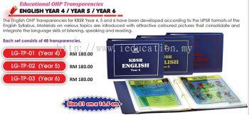 Educational OHP Transparencies English Year 4 / Year 5 / Year 6