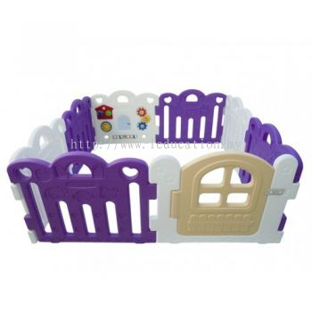 HNP-737P8P Baby Play Yard Petit 8 Panels Purple