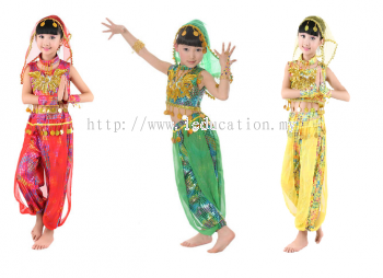 K1807 Indian Dance Costume Girl - Pre Order