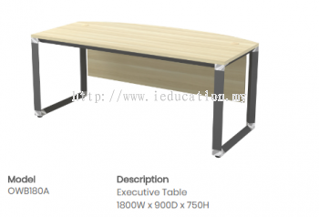 OWB180A Executive Table