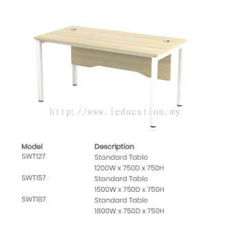 SWT127Standard Table