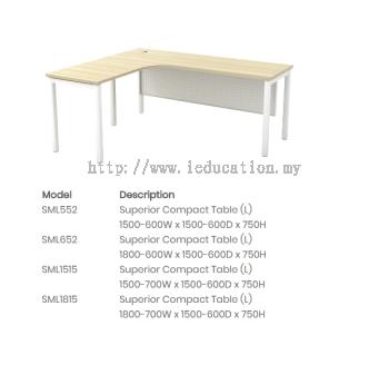 SML552Superior Compact Table (L)