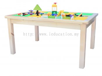 FZ040 Lego Construction Table with Giant & Small Construction Blocks