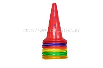 PJ-JD-66A Training Plastic Skittle Cone With Holes