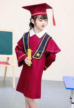 YY Graduation Gown Set J