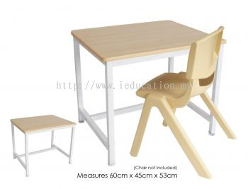 Q011S Wooden Student Table