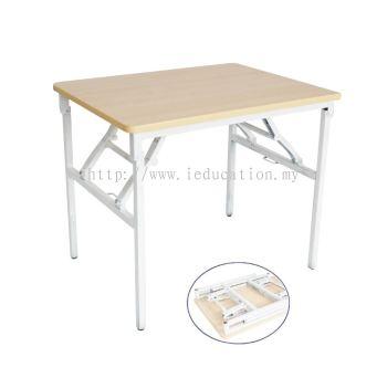Q032SFL Foldable Single Wood Top Kindly Desk