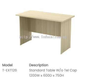 EXT126 Standard Table (w/o Tel Cap)