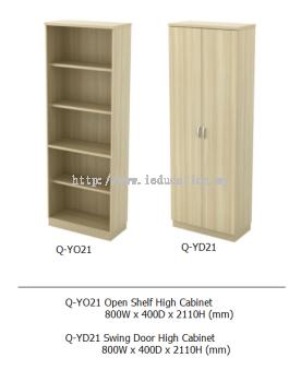 Q-YO21 Open Shelf High Cabinet