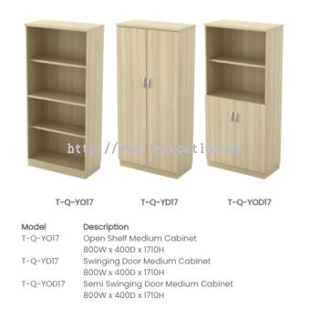 Q-YO17 Open Shelf Medium Cabinet