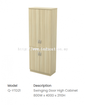 Q-YTD21 Swinging Door High Cabinet