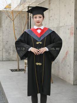 YY Graduation Gown Set O