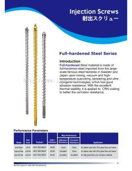 Full-hardened Steel Series