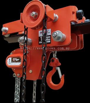Low Headroom Combined Chain Block And Trolley