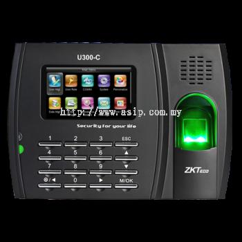 U300-C. ZKTeco Fingerprint Time Attendance Terminal