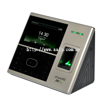 uFace 800. ZkTeco Multi-Biometric Time Attendance and Access Control Terminal