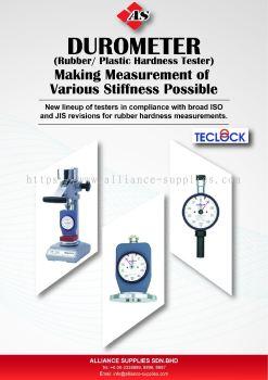 Teclock Digital/Dial Durometer For Rubber & Plastics(Shore Durometer)