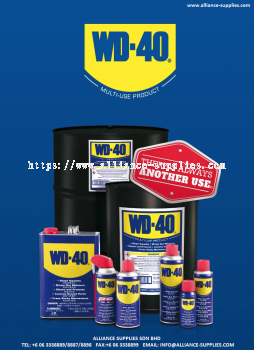 WD-40 Multi-Purpose Spray / Anti-Rust / Lubricants