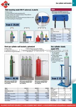 17.05.4 Gas Cylinder Handling