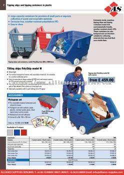 17.07.3 Polyethylene Tipping Skips
