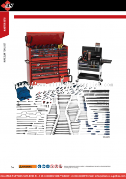 1.08.4 WILLIAMS Maxxum / Monster Tool Set