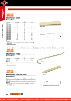 1.20.6 WILLIAMS Prybar Chisels