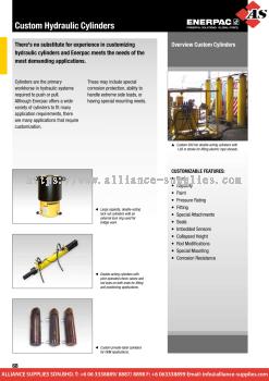 24.01.29 Custom Hydraulic Cylinders & Pumps