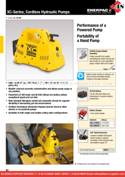 24.02.8 XC-Series, Cordless Hydraulic Pumps