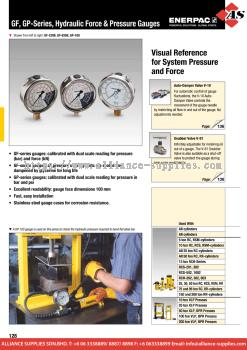 24.04.6 GF, GP-Series, Force & Pressure Gauges
