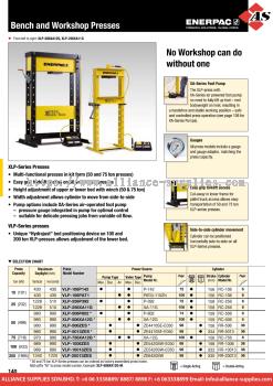 24.05.2 XLP, VLP-Series, Bench & Workshop Presses