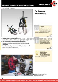 24.06.6 EP-Series, Posi Lock® Mechanical Grip Pullers