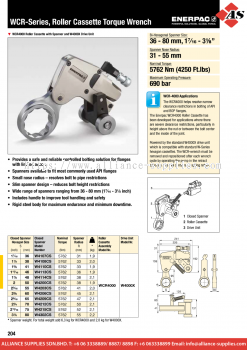 24.08.9 WCR-Series, Roller Cassette Wrenches
