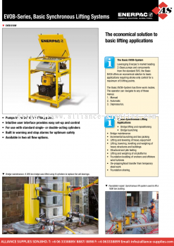 24.09.3 EVOB-Series, Basic Synchronous Lifting Systems