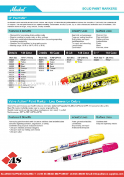 27.05 MARKAL Paint Markers