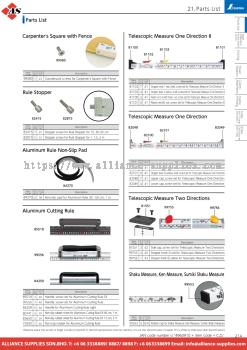 10.21 Parts List