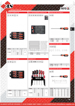 YATO Precision Screwdriver Set / 22 in 1 Interchangeable Screwdriver / Screwdriver / Flexible Hose