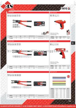 YATO Hydraulic Pliers / Electric Glue Gun