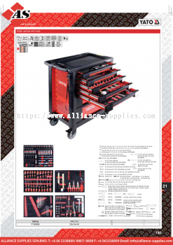 YATO Roller Cabinet With Tools YT-55290