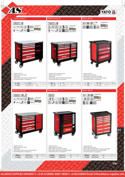 YATO Mobile Workbench / Roller Cabinet