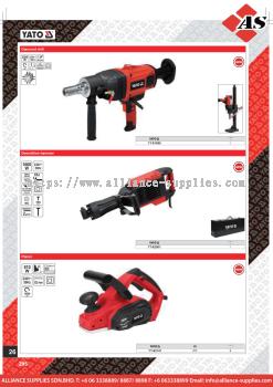 YATO Diamond Drill / Demolition Hammer / Planer