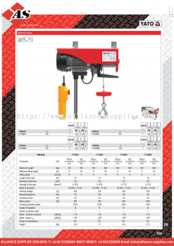 YATO Electric Hoist