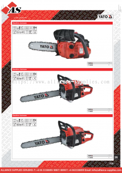 YATO Gasoline Chainsaw