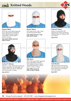 15.15.8 CPA Hoods Head Protection
