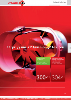 HELIOS MultiVent® In-Line Fans