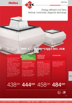 HELIOS Roof Fans
