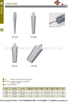 Taper Gauge, Plastic Taper Gauge TPG-700A/ TPG-700B/ TPG-700C/ TPG-700D/ TPG-700S/ TPG-267M/ TPG-700SL/ TPG-800