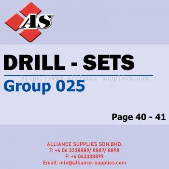Drill - Sets (Group 025)